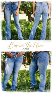 Beware The Flare Jeans