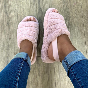 Cozy Blush Slipper (Pre-Order)