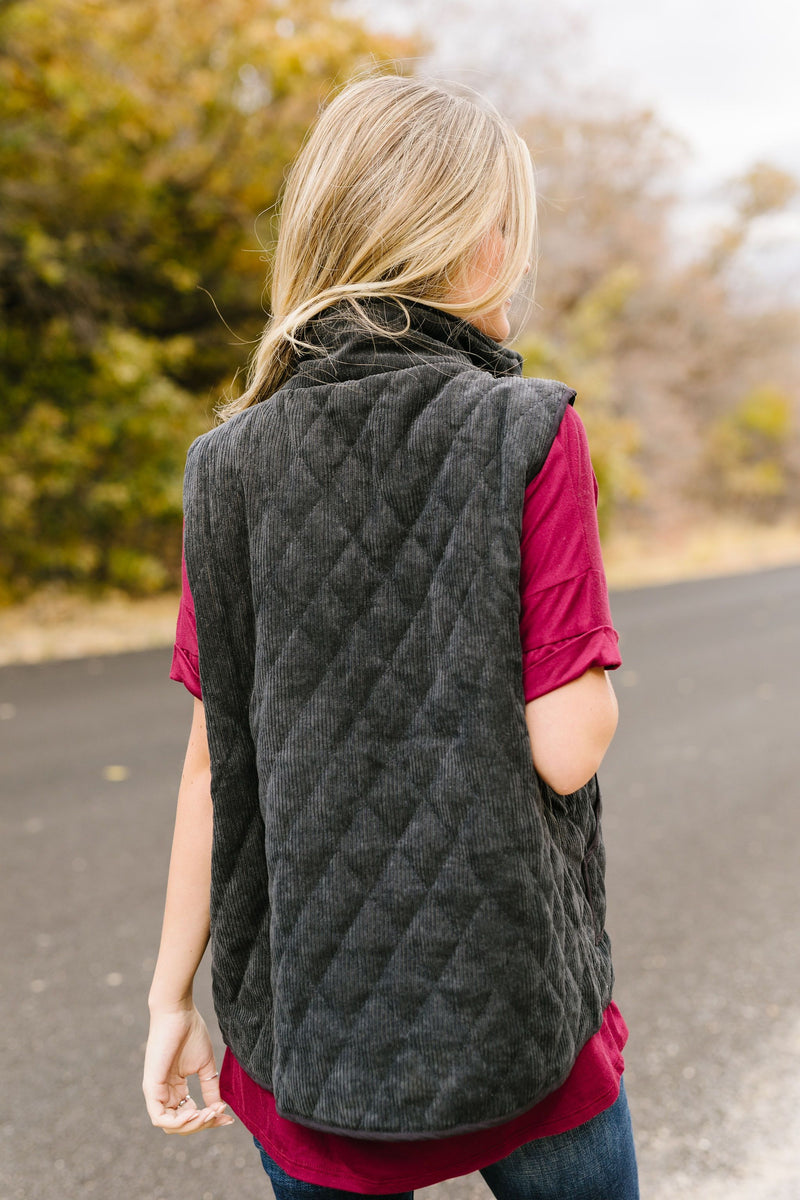 Courtney Corduroy Vest