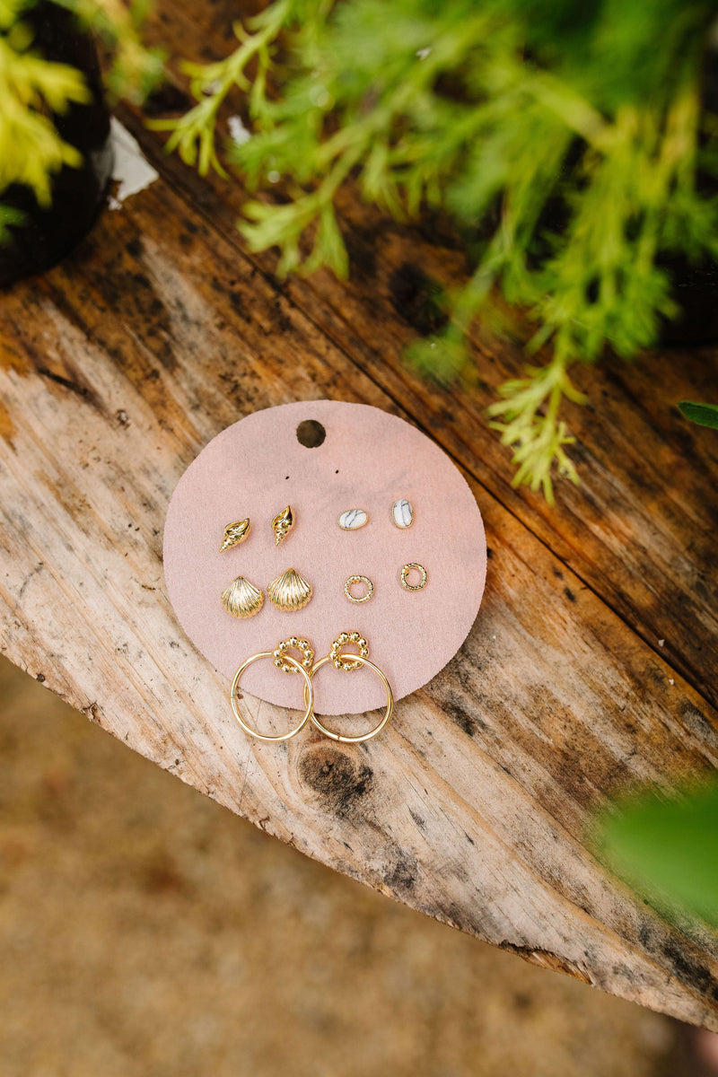 Dream Vacation Dainty Earring Set