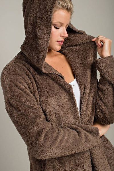 Teddy Bear Faux Fur Jacket