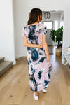 Miami Beach Tie Dye Maxi Dress