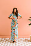 Morning Rendezvous Floral Maxi