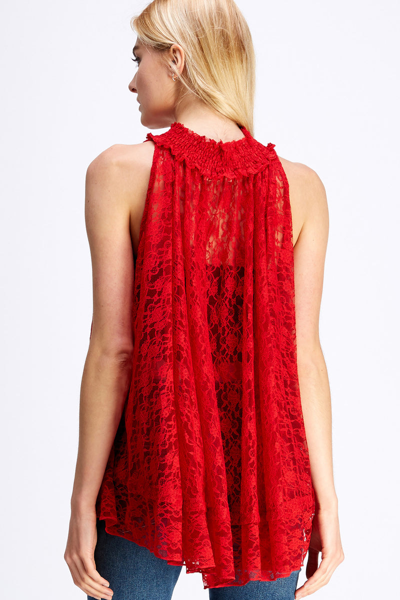 Serena Blouse - Red