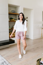 Short 'N' Sweet Shorts In Rose