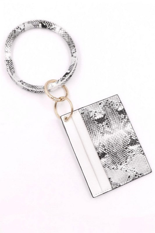 Snakeskin ID Holder