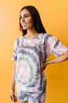 Swirly Girl Lounge Top