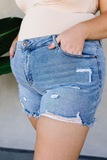 Torn & Tattered Cutoff Shorts