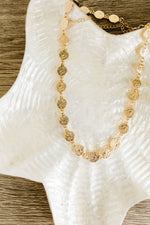 Verona Gold Coin Necklace