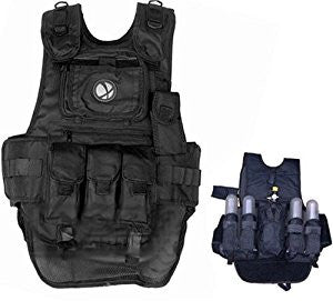 GXG Deluxe Tactical Paintball Vest
