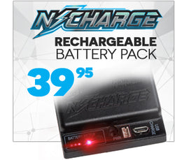 N-Charge rechargeable battery pack for Spire and Rotor