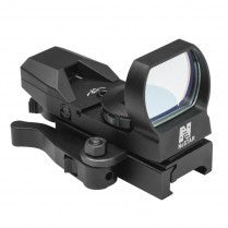 NCSTAR 4 Reticle Reflex Sight D4BQ (Red)