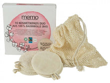 100% Organic Cotton Cosmetic Pads (10)