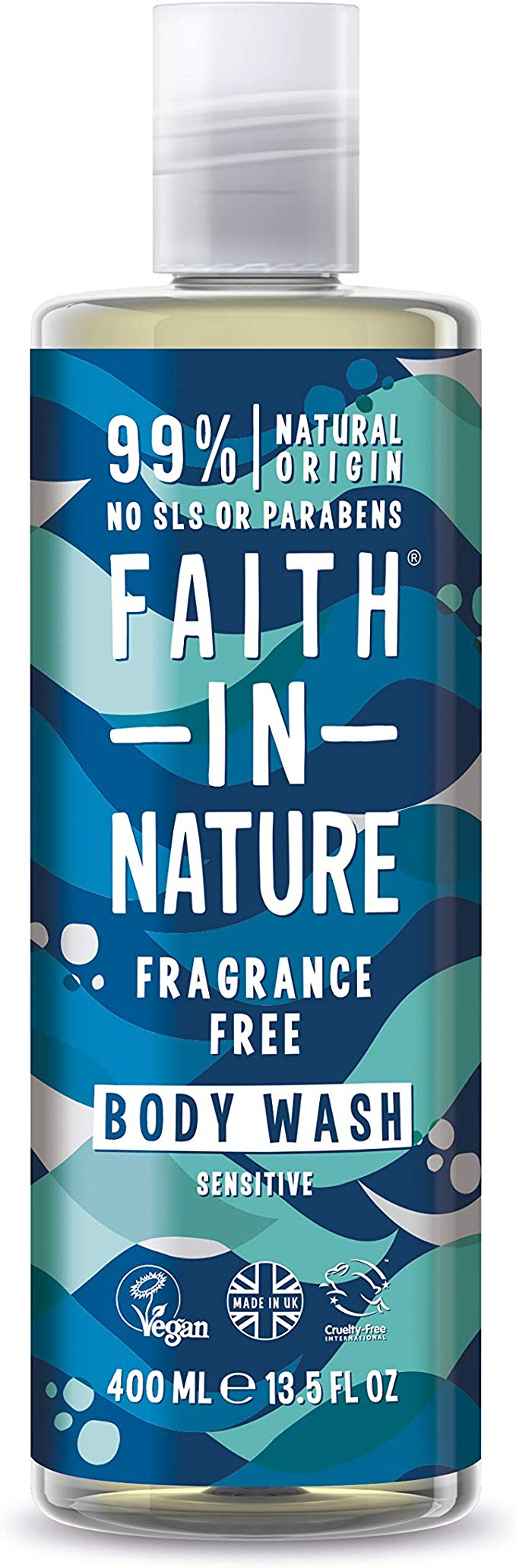Faith in Nature Fragrance Free Shower Gel 100ml