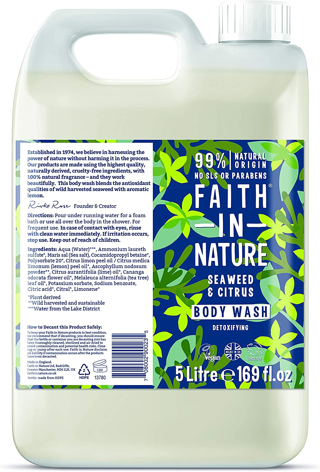 Faith on Nature Seaweed & Citrus 100ml