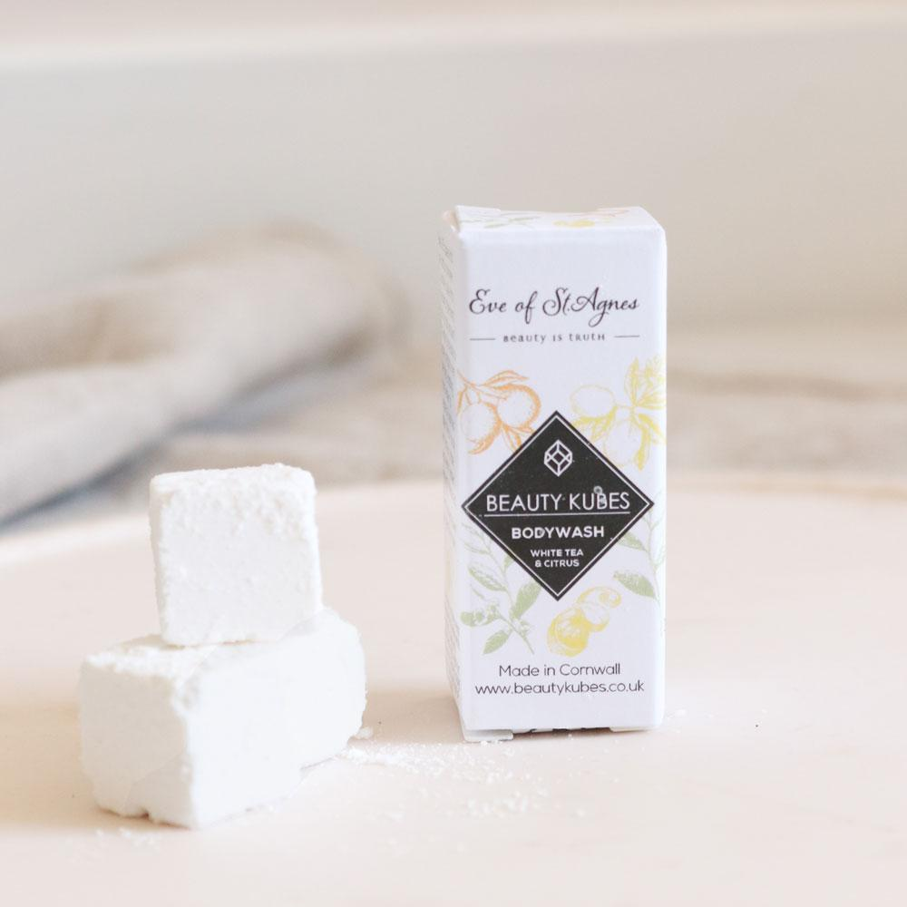 Sample Size Beauty Kubes Body Wash White Tea & Citrus