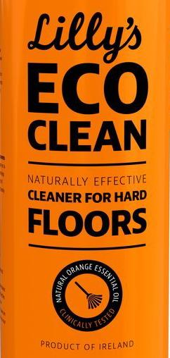 Lilly's Eco Clean Concentrated Floor Cleaner with Orange Oil - 100ml REFILL