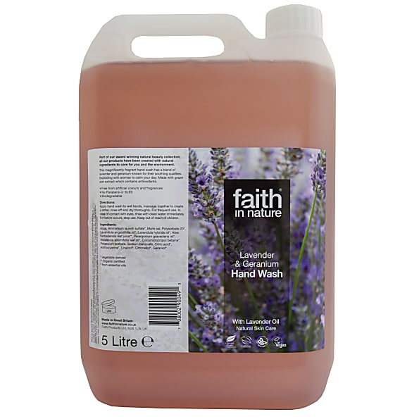 Faith Nature Lavender and Geranium Hand Wash 100ml