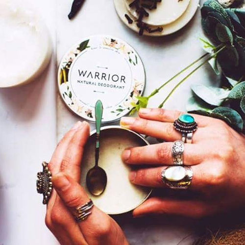 Warrior Lavender and Geranium Deodorant Cream 10g