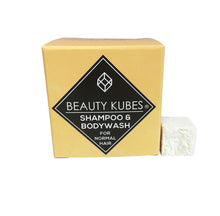 Beauty Kubes Unisex Shampoo & Bodywash for Normal Hair