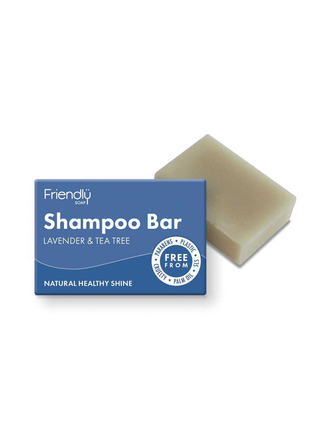 Friendly Lavender & Tea Tree Shampoo Bar