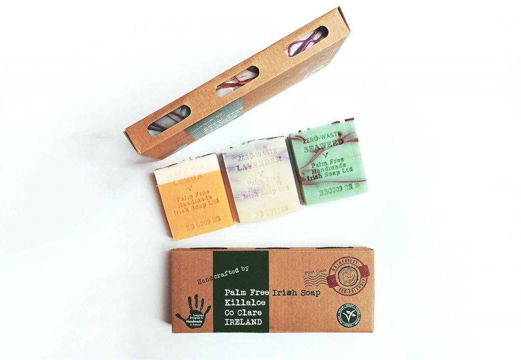 Gift Pack of Palm Free Irish Soap