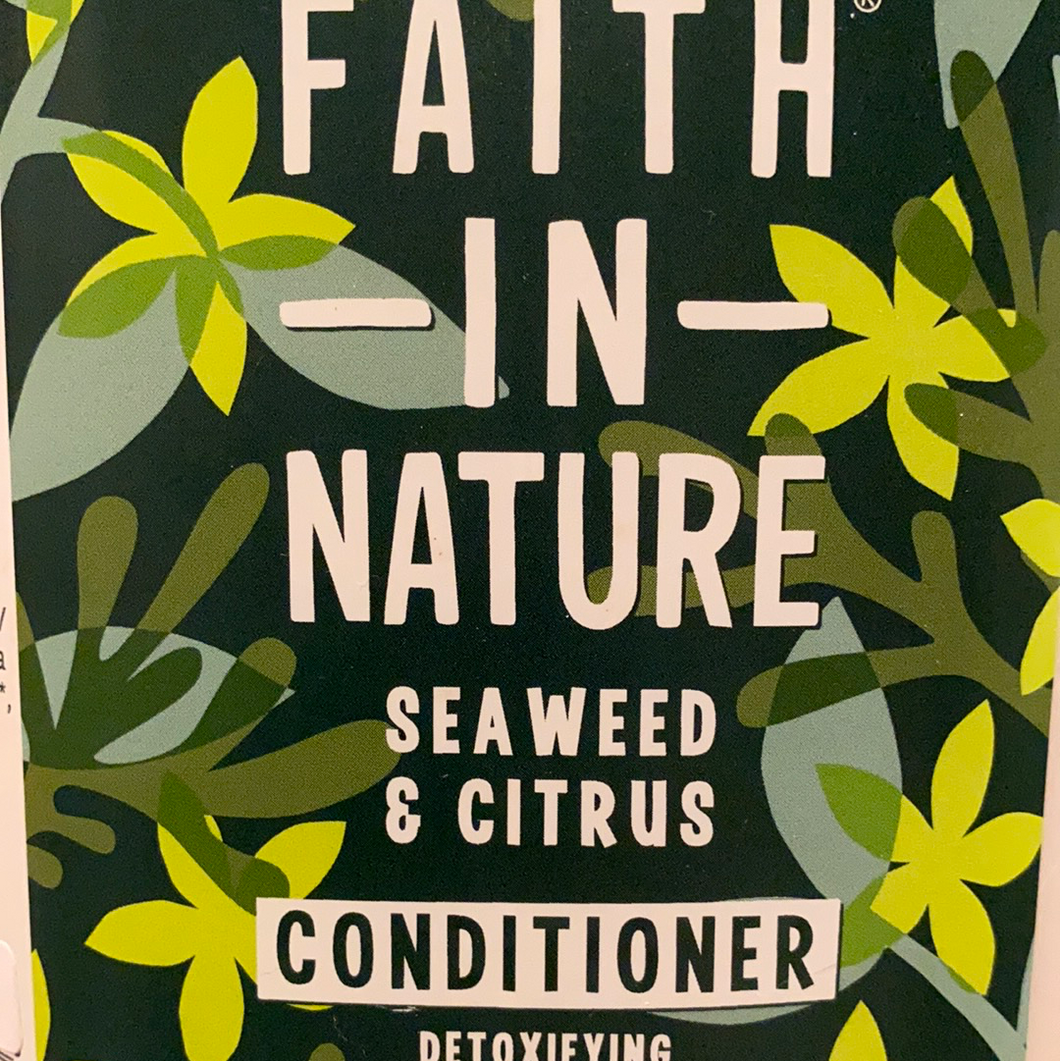 Faith In Nature Seaweed & Citrus Conditioner - 100ml Refill