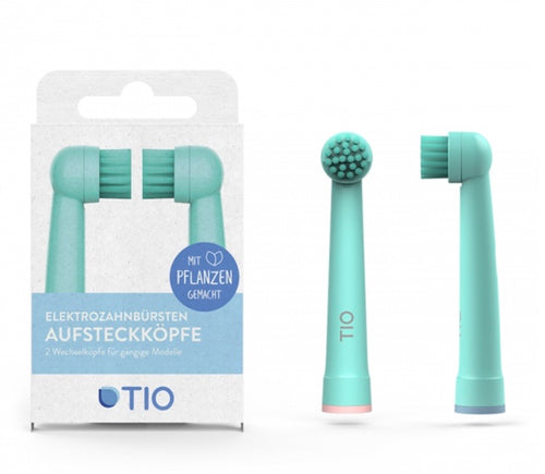 Sustainable Electric Toothbrush Replacement Heads  - 2 pack