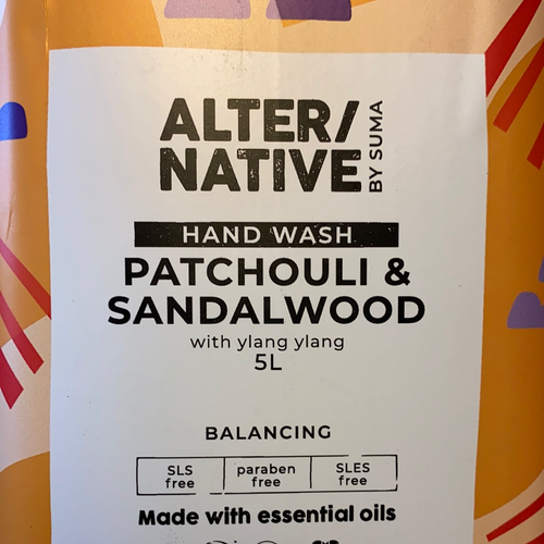 ALTER/NATIVE Patchouli & Sandalwood Body Wash 100ml REFILL