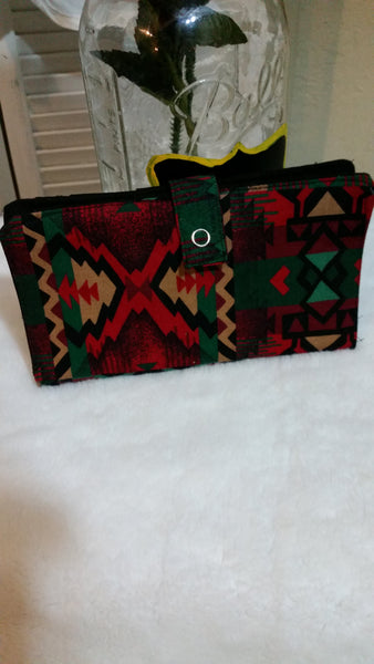 Pretty Native American Printed Wallet