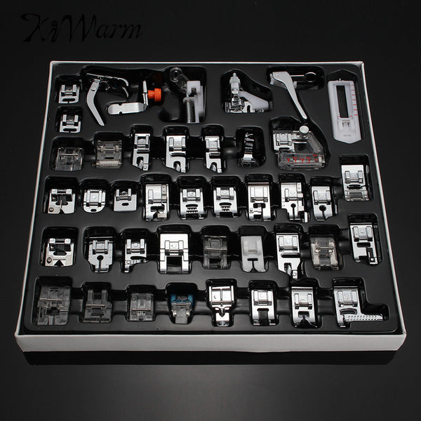 42PCS Multifunction Domestic Sewing Machine Presser Foot Kit