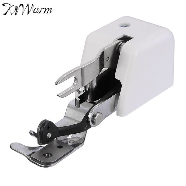 Modern Metal Sewing Machine Part Universal Side Cutter Overlock Presser Foot