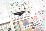 3packs/lot New Creative Transparent Stickers