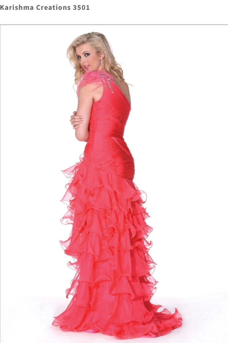 Coral Stunning Dress