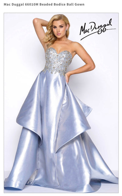 Beaded Bodice Ball Gown