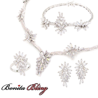 4-Pcs Cubic Zirconia Set