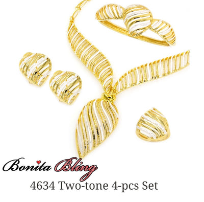 Two-Tone 4-pcs Set