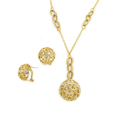 Gold Plated Globe Set