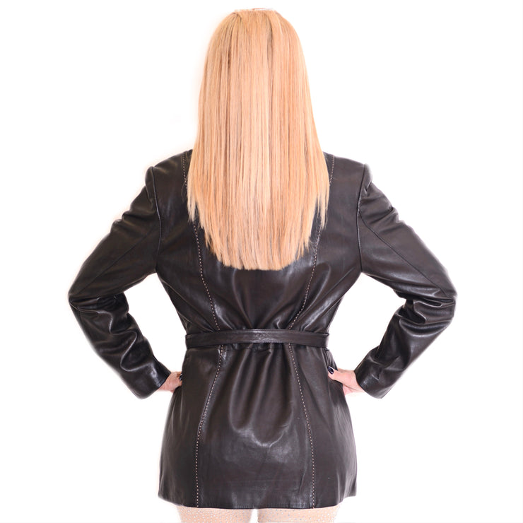 Bonita Leather Coat