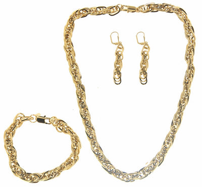 Bonita Jewels Gold Plated 3-PCS Set