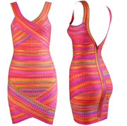 Bonita Bandage Fiesta Mini Dress