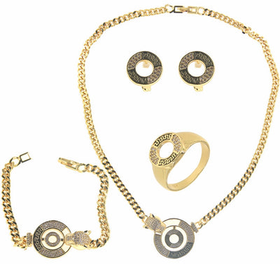 Bonita Jewels Gold Plated 4-Pcs Set