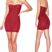 Bonita Bandage Strapless Mini Dress