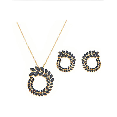 Bonita Jewels Gold Plated CZ Set