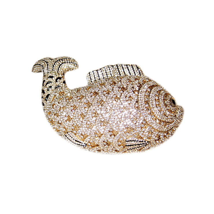 Bonita Jewels Embellished Crystal Fish