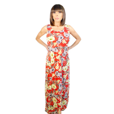 Bonita's Closet Long Floral Dress