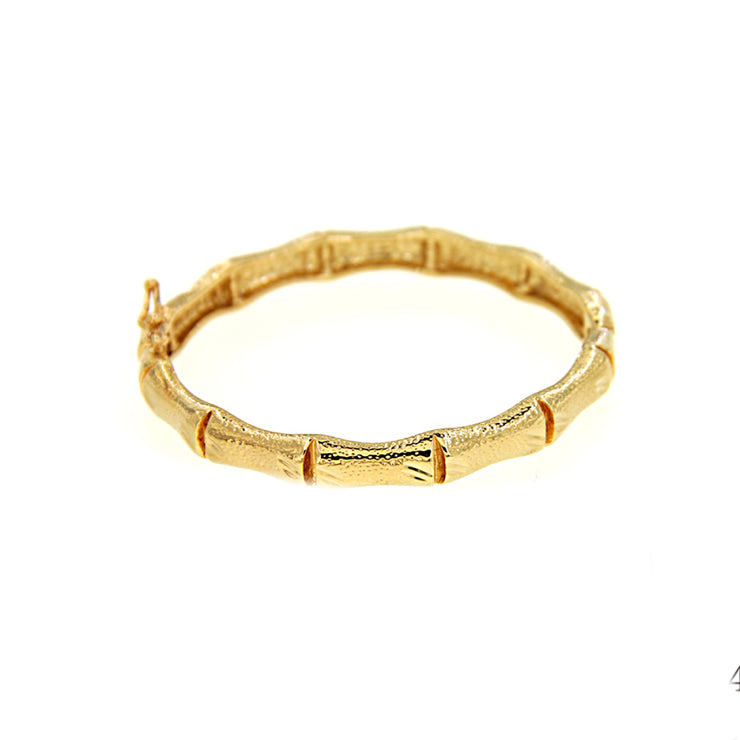 Bonita Jewels Gold Plated Bangle