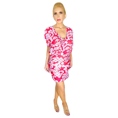 Bonita's Closet Flower Print Dress