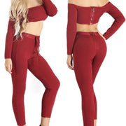 Bonita Bandage Two Piece Pant Suit
