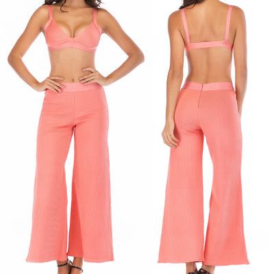 Bonita Bandage Two Piece Pant Set
